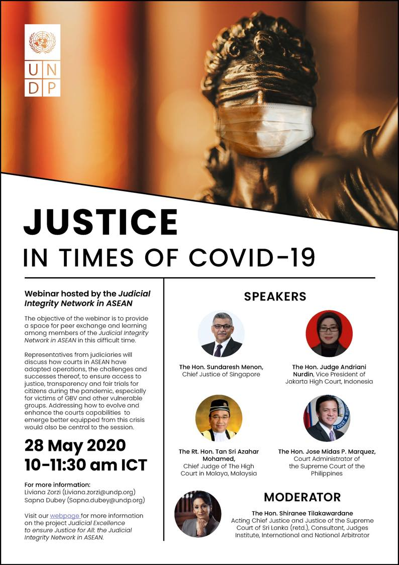 Justice in Times of COVID-19